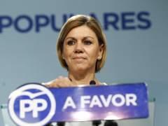 Cospedal tiende la mano al PSOE para permitir la gobernabilidad de CLM