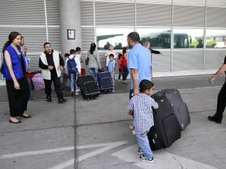 Llegada de refugiados a España