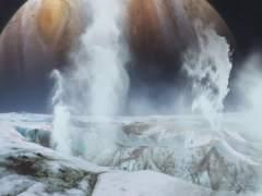 La NASA detecta posibles emisiones de vapor en la luna Europa