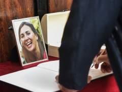 Familiares y amigos despiden en Getxo a María Villar, secuestrada y asesinada en México