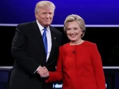 Clinton y Trump, enfrentados en el debate presidencial