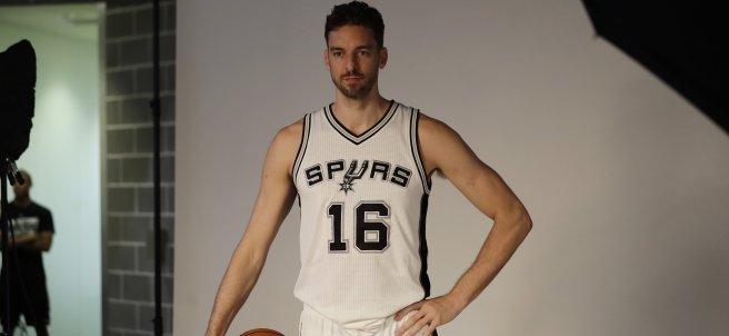 Gasol, de corto con los Spurs