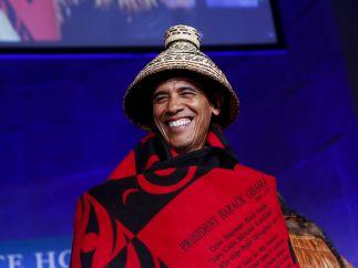 Un Obama muy tribal