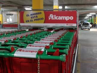 CARROS DE LA COMPRA DE ALCAMPO