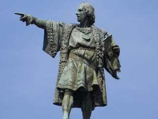 Estatua de Colón.