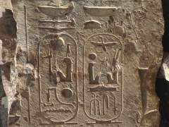 Descubren en El Cairo un templo de Ramses II