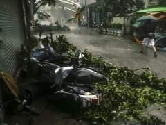 El tifón Megi deja cuatro muertos, 523 heridos y devastación en Taiwán