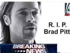 Usan la falsa muerte de Brad Pitt para infectar ordenadores