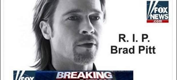 Falsa muerte de Brad Pitt