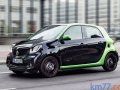 Smart forfour electric drive, con 82 CV y 155 km de autonomía