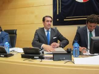 Suárez-Quiñones en su comparecencia