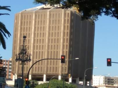 Edificio de correos málaga