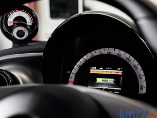 Velocidad del Smart Forfour electric drive