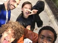 Los niños de 'Stranger Things' se pasan a la moda con Vuitton