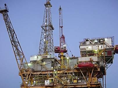Plataforma petrolera.
