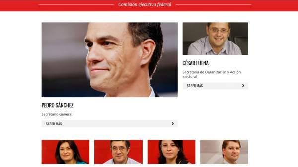 Crisis en el PSOE