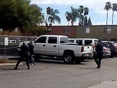 El abatido en California apuntó a los policías con un cigarrillo electrónico