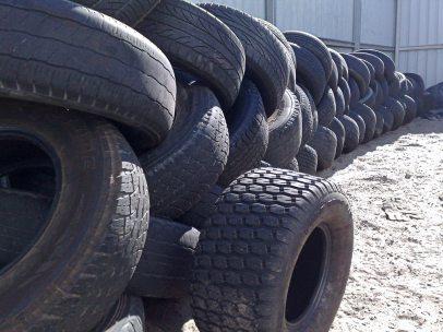 Neumáticos al final de su vida útil
