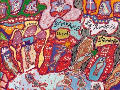 Los dibujos psicóticos de Jean Dubuffet, 'padre' del Arte Bruto