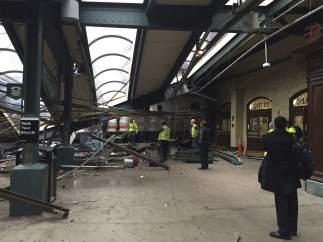 Accidente tren Nueva Jersey