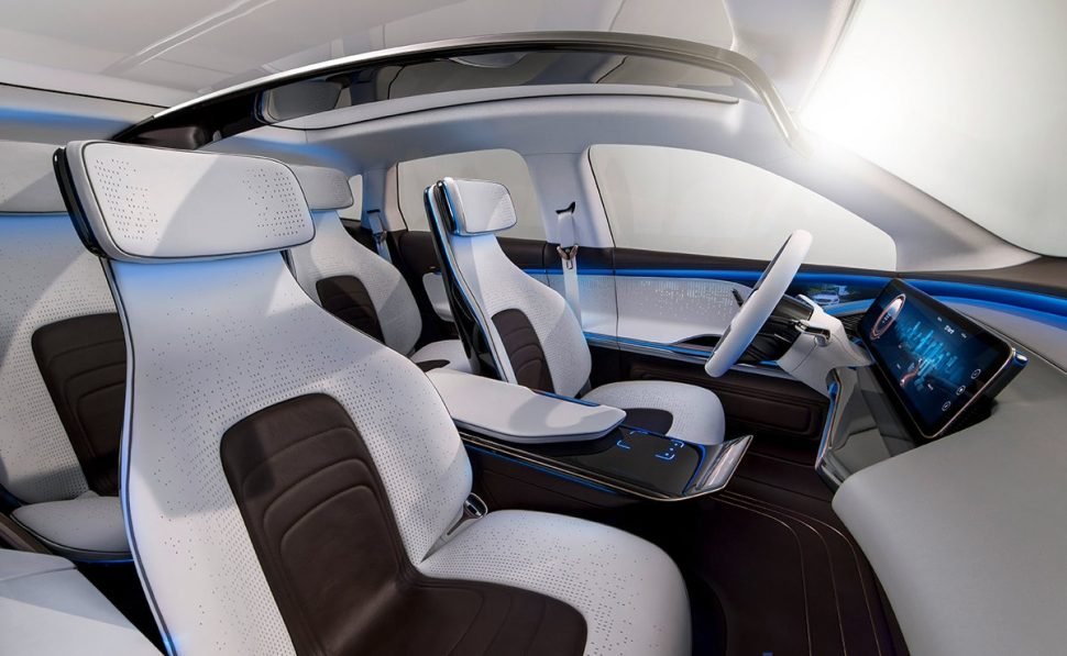 Interior del Mercedes-Benz Generation EQ