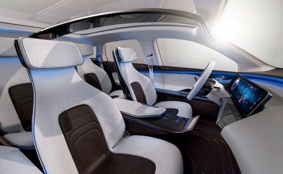 Interior del Mercedes-Benz Generation EQ