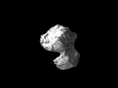 Vista del cometa