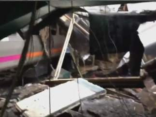 Accidente de tren en Nueva Jersey