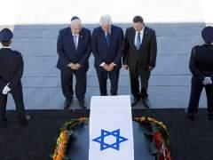 El féretro de Peres, trasladado del Parlamento hasta cementerio del Monter Herzl