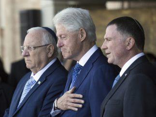 La emoción de Bill Clinton