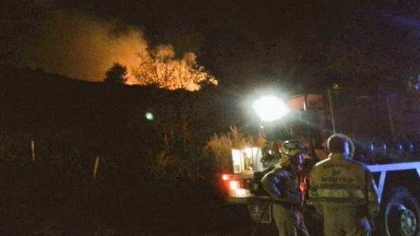Incendio en Ruerrero