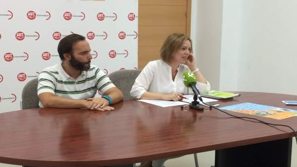 María José Ladera en rueda de prensa