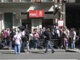 Sede nacional del PSOE, en la calle Ferraz (Madrid)