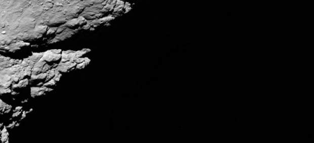 Última foto de Rosetta