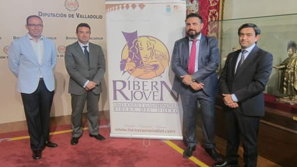 Presentación de la fiesta de la Vendimia de Peñafiel (Valladolid)