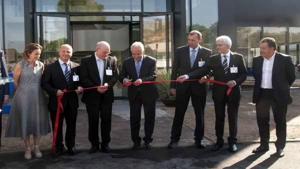 Inauguración de las instalaciones