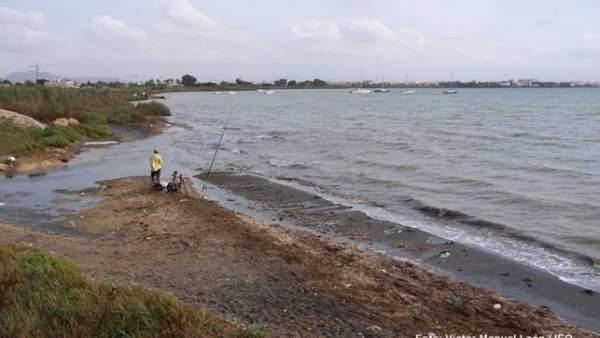 Imagen de la costa del Mar Menor