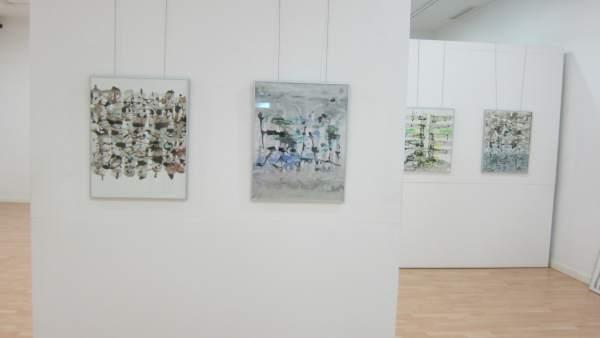 Exposición de Ernesto Montero en Pintores 10 de Cáceres
