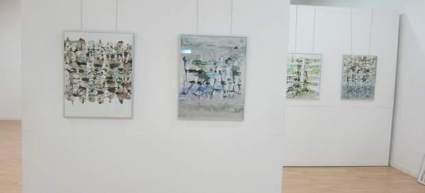 El artista luis ernesto montero presenta sus obras en la - Pintores en caceres ...