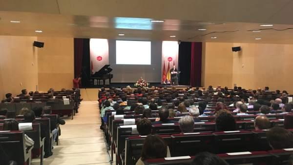 Inauguración del curso en la Universidad Isabel I