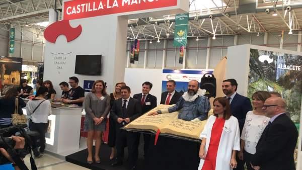 Estand de Castilla-La Mancha en la XV edición de Tierra Adentro.