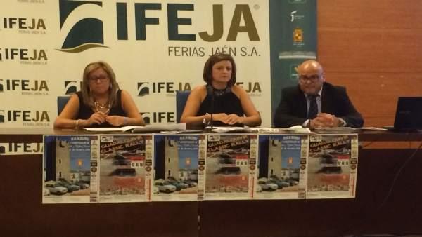 Presentación del I Guadalquivir Rally Classic