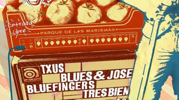 Cartel del Tomate Blues.