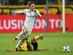 Modric, baja ante el Eibar por una lesión