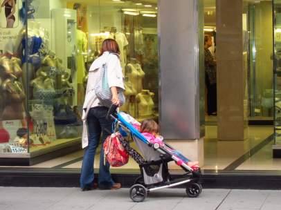 Una madre con su hija