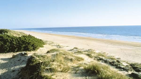 Playa de Isla Canela