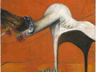 Francis Bacon - Furia (Fury), ca. 1944