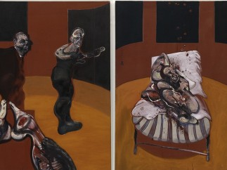 Francis Bacon- Tres estudios para una Crucifixión (Three Studies for a Crucifixion), 1962