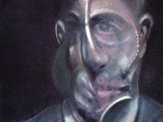 Francis Bacon, Retrato de Michel Leiris (Portrait of Michel Leiris), 1976