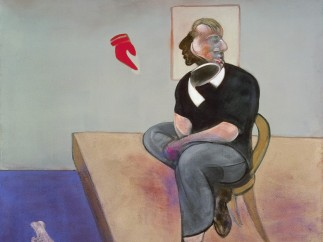 Francis Bacon, Estudio para autorretrato (Study for Self-Portrait), 1981